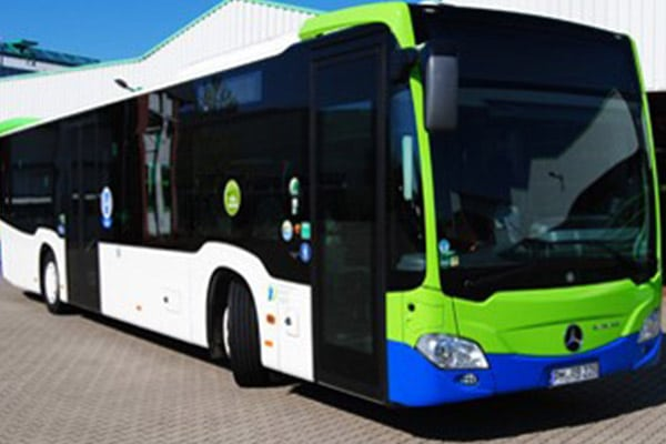 Carbon neutral public transport in the region Potsdam Mittelmark